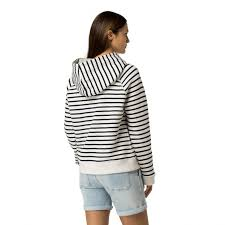 sweaters sweatshirts white tommy hilfiger th ny stripe hoo womens snow white peacoat