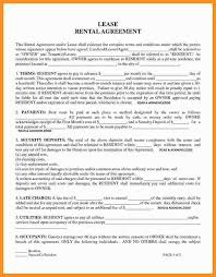 11-12 Free Printable Rental Agreement Forms | Wear2014.com