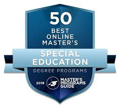 50 Best Online Master Of Special Education Degree Programs 2018