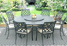 outdoor dining sets for 8 10 8 person round patio table patio cast aluminum patio tables