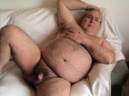 Amateur video fat old man