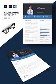 Alex Macintosh Professional Resume Template 69695