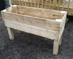 recycled pallet planter box handmade pallet garden planter
