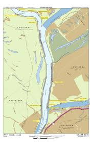 Army Corps Of Engineers River Charts Chart 6 Lower Old River Miles 0 0 To 1 2 Us Army Corps