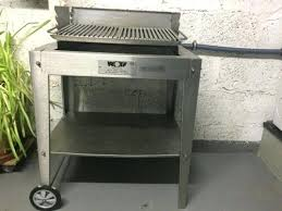 wolf outdoor grill wolf in wolf 36 outdoor gas grill review