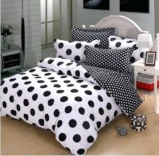 black and white comforter black and white polka dot cotton duvet cover bedding black and white
