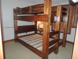 custom bunk beds timbertenon bunk bed
