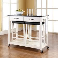 Kitchen Design:Magnificent Kitchen Island Cart Marble Top Kitchen Island  With Seating White Granite Kitchen