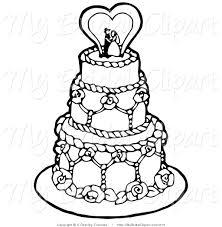elegant wedding cake clipart. Unique Clipart Intended Elegant Wedding Cake Clipart N