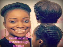 Hair Style For Medium Length easy natural hairstyles for shortmedium length natural hair 7680 by wearticles.com