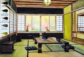 japanese style lighting. Living Room Japanese Style Wall Lighting Beside Black Leather Sofa Wooden Table On Bronw Rug White