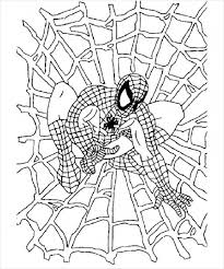Small Picture Spider Man Color Pages Latest Spiderman Drawings For Kids Spider