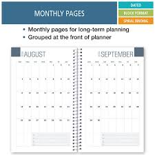 College Planners 2020 Elan Publishing Dated Student Planner For High School Of