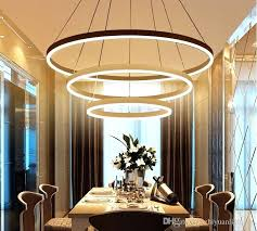 circle pendant lighting circle rings modern led pendant lights acrylic chandeliers lighting designer pendant lamps living room dining lighting fixtures