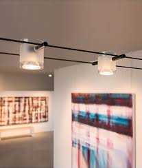 track lighting styles. Cylindrical Tension Wire Head With Frosted Glass Shade Track Lighting Styles