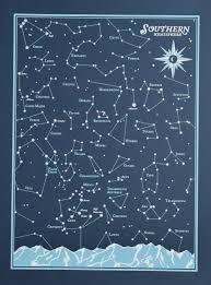 Star Charts For Southern Hemisphere Star Chart Southern Hemisphere