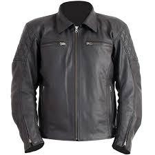 rst cruz leather jacket black