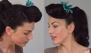 Pin Ups Hair Style pin up ponytail easy & practical vintage hairstyle youtube 7965 by wearticles.com