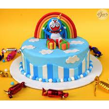 Doraemon Cake First Birthday Occasion Designer Cakes