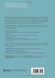 how to write successful business and management essays sage study how to write successful business and management essays sage study skills series amazon co uk patrick tissington markus hasel jane matthiesen