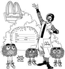 Mcdonalds Coloring Page Free Coloring Pages For Kids Coloring