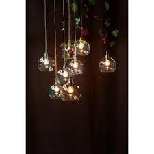 rowan small forest green glass ceiling pendant light