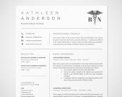 How To Make A Nursing Resume Amazing Registered Nurse Resume Template For Word Nursing Resume Etsy