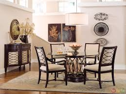 Round Dining Room Table And Chairs Round Dining Tables For 4