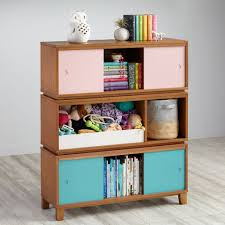 Bookcase Table District Storage Bench Bookcase Wheat The Land Of Nod