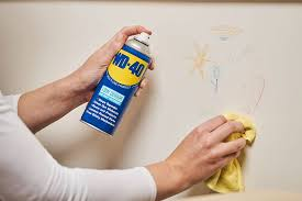 remove crayon from walls with wd 40
