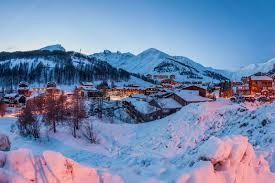 paysages d hiver la foux d allos