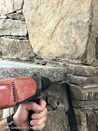 removing stone fireplace how to remove a granite stone mantel our fireplace removing fake stone fireplace
