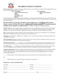 Pet Sitting Instructions Template Download Pet Care Agreement Style 41 Template For Free At