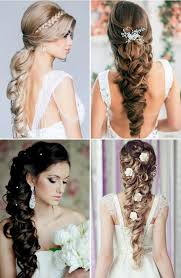 Hairstyle Brides bridal hairstyles for long hair western amp indian bridal 8786 by stevesalt.us