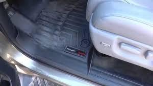 2008-2015 Toyota Sequoia weathertech floor mats - YouTube