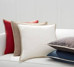 Covering Throw Pillows