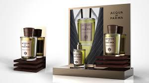 Suit Display Stands perfume luxury man suit tie elegant italy Intensa Acqua Di Parma 37