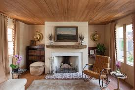 french doors living room farmhouse
