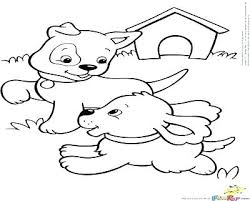 Free Printable Coloring Pages Of Cute Puppies And Kittens Lol Pets