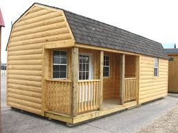 Small Picture LOG CABIN Portable Storage Building Sheds Barns Kansas Portable