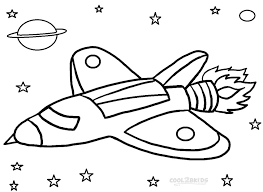 Small Picture Printable Rocket Ship Coloring Pages For Kids 26920