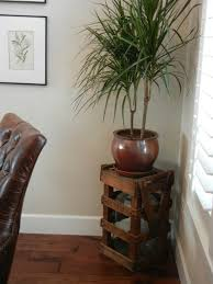 wood plant stand indoor 11 images
