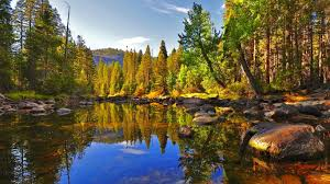 autumn mountains backgrounds. Download Lakes Autumn Mountain Lake Reka Serenity Tranquility Crystal Clear Forest Quiet Calmness Sky Nice Nature Fall Trees Beautiful Lovely Foliage Mountains Backgrounds