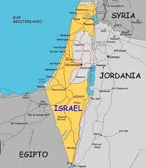 Resultado de imagen de mapa de palestina e israel