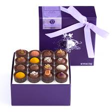 milk chocolate truffle collection 16 pieces