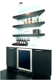 mini bar shelf basement shelves medium image for images about wet on organizer glass shel wet bar wall shelves