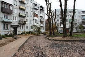 Вход в дом со двора. Administraciya Go Gorod Kaliningrad