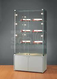 glass display case contemporary display case glass illuminated commercial glass display case for regina