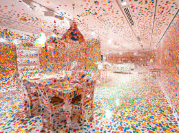 The Obliteration Room by Yayoi Kusama, 2002 to present (Collection:  Queensland Art Gallery, Brisbane, Australia Photograph: QAGOMA Photography   Yayoi ...