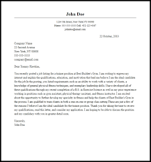 Professional Trainer Cover Letter Sample Writing Guide